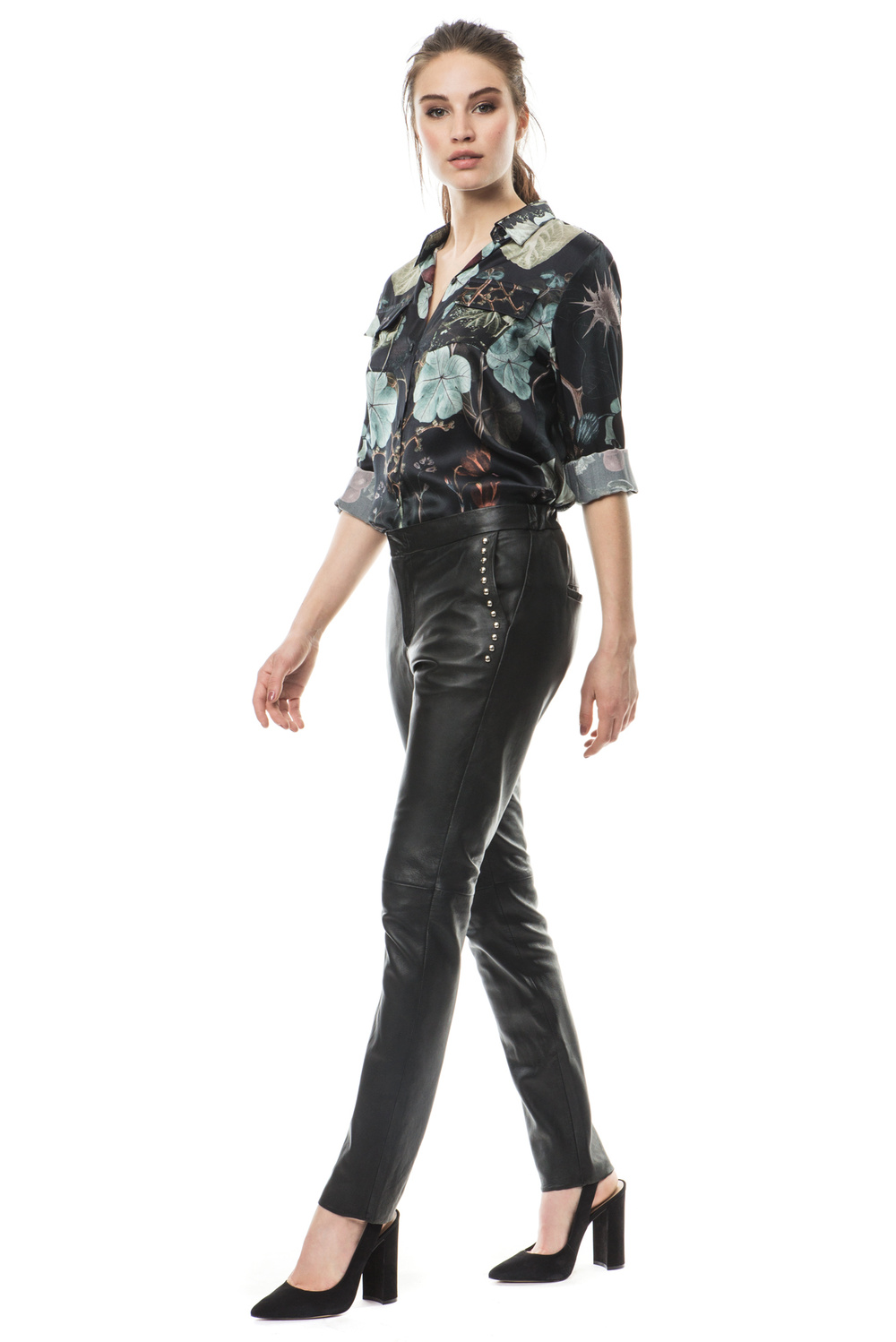 Product thumbnail of Tone studded leather pants