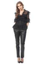 Product image Tone Studded Leather Pants