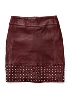 Product image Aya Studded Leather Skirt